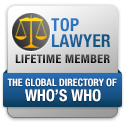 Top Lawyer Lifetime Member || The Global Directory Of WHO'S WHO